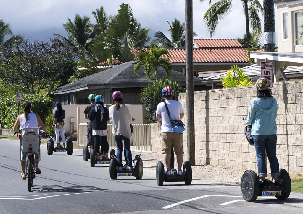 Hawaii Honolulu Kailua Beach Segway
