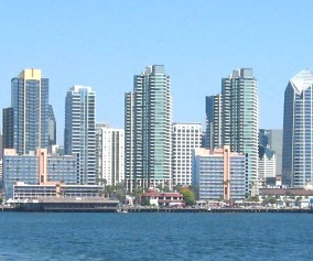 San Diego Skyline day